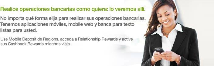 conozca sobre la banca móvil y el depósito móvil de Regions Bank a través de este video.