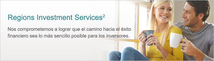 Pancarta de Regions Investment Services