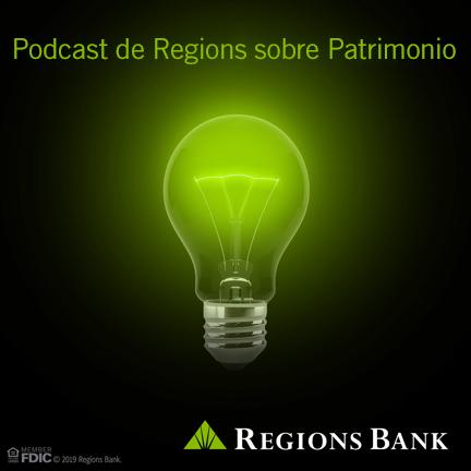 Logo depodcast de Regions sobre patrimonio